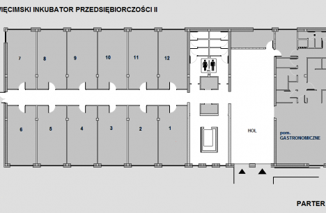 rozkład pomieszczeń 1